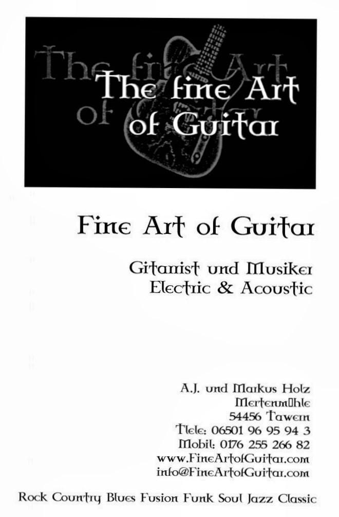 Location, Mertenmuehle, Fine Art of Guitar, Trier-Saarburg, Adressdaten