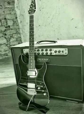 Gitarrist und Musiker, Fine Art of Guitar, Markus Holz, Equipment, Tom Anderson, Mesa Boogie