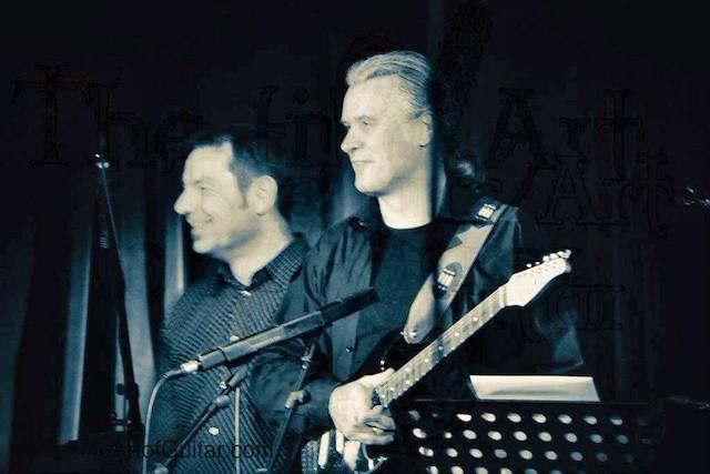 Band diverse, Markus Holz, Fine Art of Guitar, Gig FeathersFly